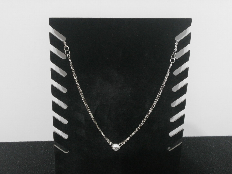 Halskette mit Ringanhänger