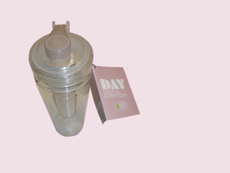 Day Trinkflasche mit Fruchteinsatz