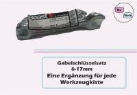 Gabelschlüsselsatz SW 6-17 mm