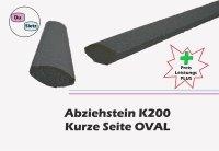 Abziehstein oval 250mm