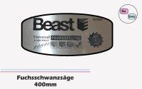 Fuchsschwanzsäge 400mm Schrägverzahng