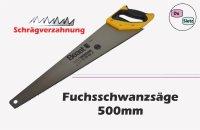Fuchsschwanz Säge 500mm Schrägverzahng