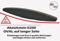 Abziezstein oval 230x30x15mm