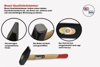 Schlosserhammer 2´er Set G 100/1000