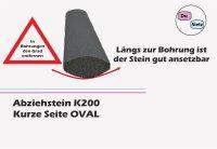 Abziehsteine oval 2´er Set